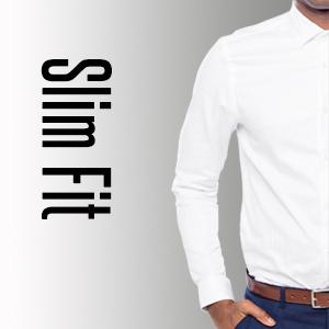 SH333 Grin/&Bear Camicia Uomo per LUfficio e Il Tempo Libero in 3 Diversi Tagli da Extra Slim Fit a Regular