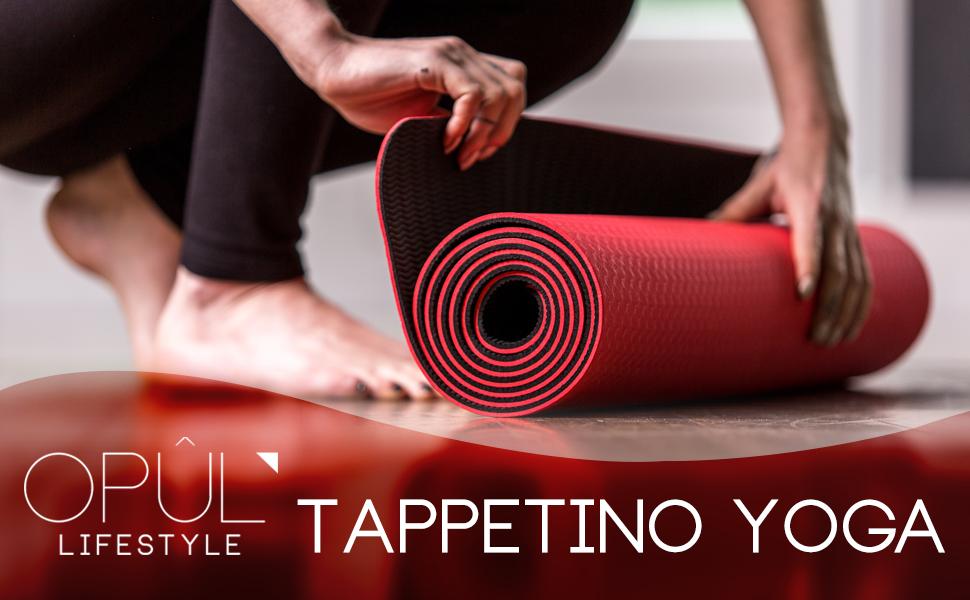 Oliver Yoga Tappetino lotau con Borsa Fiore di Loto YOGA YOGA allenamento OFFERTA COMBINATA