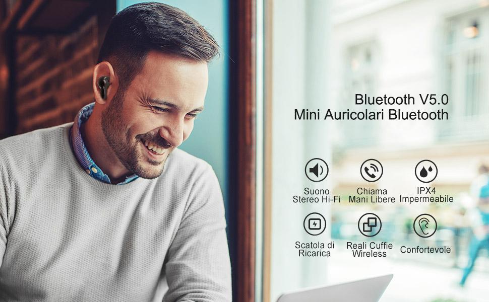 Auricolari Wireless Bluetooth