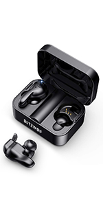 TWS Auricolari Wireless Reali Bluetooth V5,0