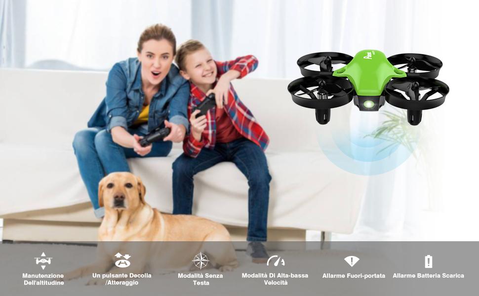 Potensic Mini Drone Facile da Entrare il Mondo del Drone