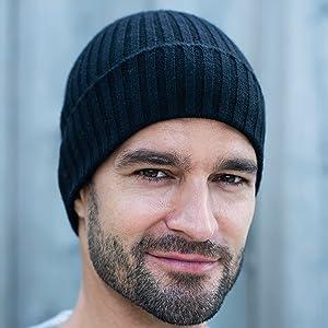 berretti maglia cachemire 100 uomo