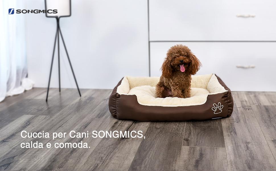 Songmics - Cuccia per Cani da interno