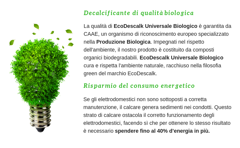 EcoDescalk Universal Biologico