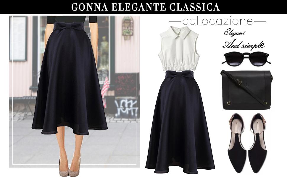 Ufficio Elegante Vita : Idgreatim vestito donna: amazon.it: abbigliamento