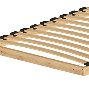 SMARTBett Basic Cama abatible Cama Plegable Cama de Pared (Blanco, 90 x 200 cm Horizontal)