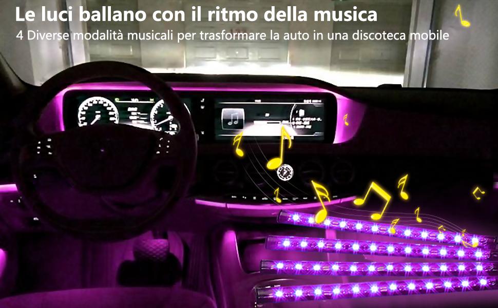 Strisce di luci auto speclux usb port kit di illuminazione a led