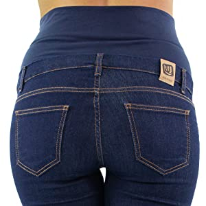 Milano Basic Jeans Premaman made in Italy