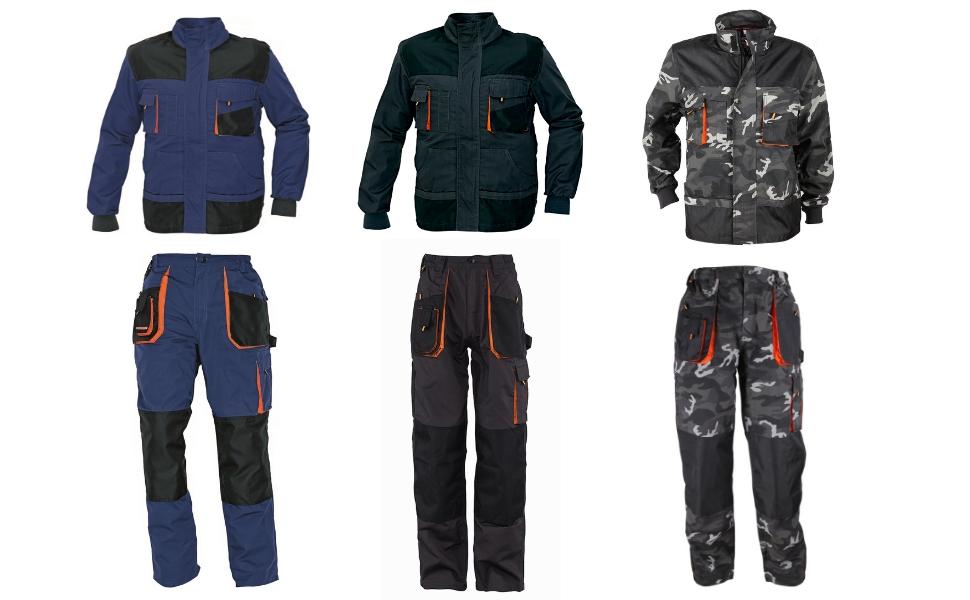 Salopette da Lavoro des-Emerton/® Uomo Colori Diversi