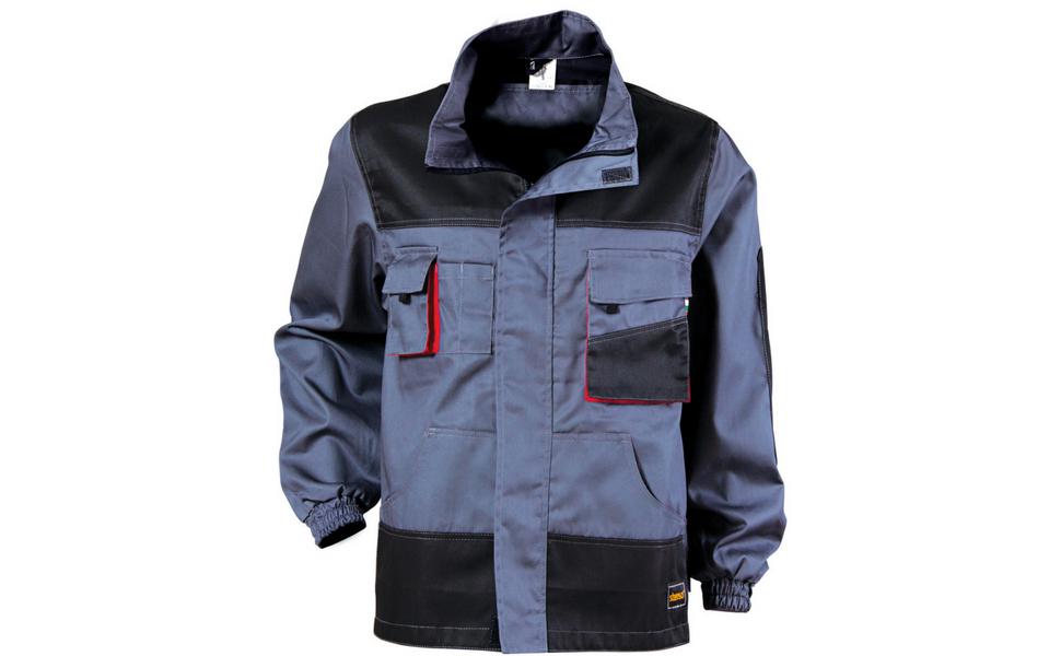 stenso des-emerton giacca da lavoro multifunzione grigio nero arancione
