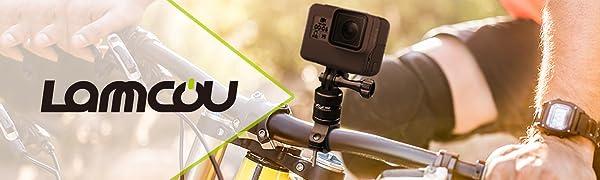 Supporto Bicicletta per Action Cam