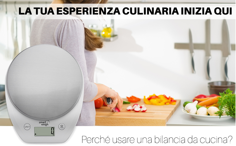 Smart Weigh Bilancia Digitale Multifunzione Da Cucina E