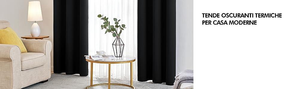 tende per casa moderne tenda oscurante tende con occhielli