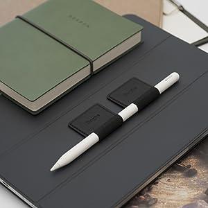 YOKING custodia di ricambio per pelle di copertura della piuma per Apple Pencil 1/° 2/° Pennino penna touch 8 pezzi in silicone Muet
