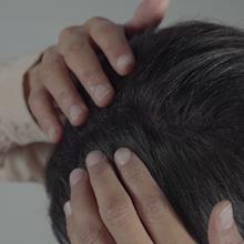 naturale distribuire tenuta capelli volume hair hairstylist polvere diradati fini parrucchier donna