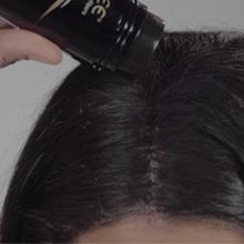 calvizie volumizzante caduta capelli volume hair hairstylist polvere cospargere zone capelluto sulle