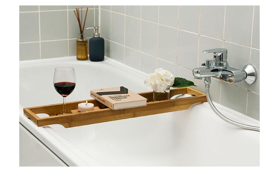 Vassoio Vasca Da Bagno : Belle mensola per vasca da bagno per vasca da bagno vasca da