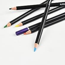FLOWood 64 Pezzi Matite Colorate Acquerellabili Matite da Disegno per Schizzo e Disegno,Matite Colorate Fornire a Artista e Principianti