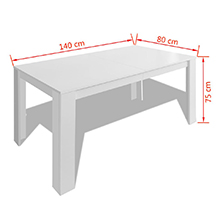 Tavolo da Pranzo Bianco