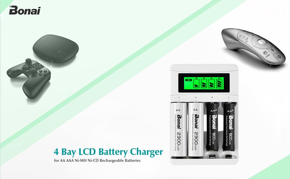 Carica Batterie Ricaricabili