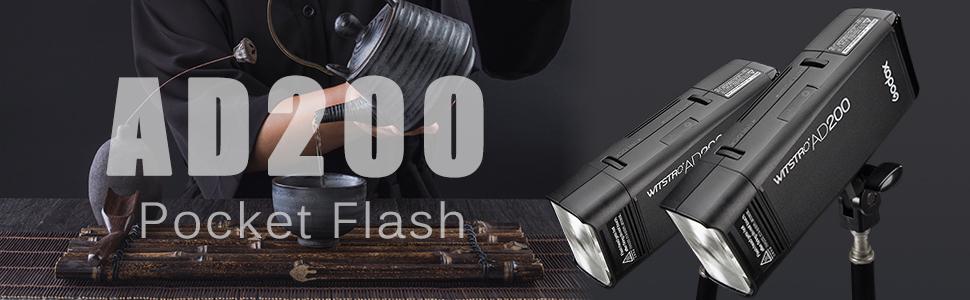 Godox AD200 TTL Flash