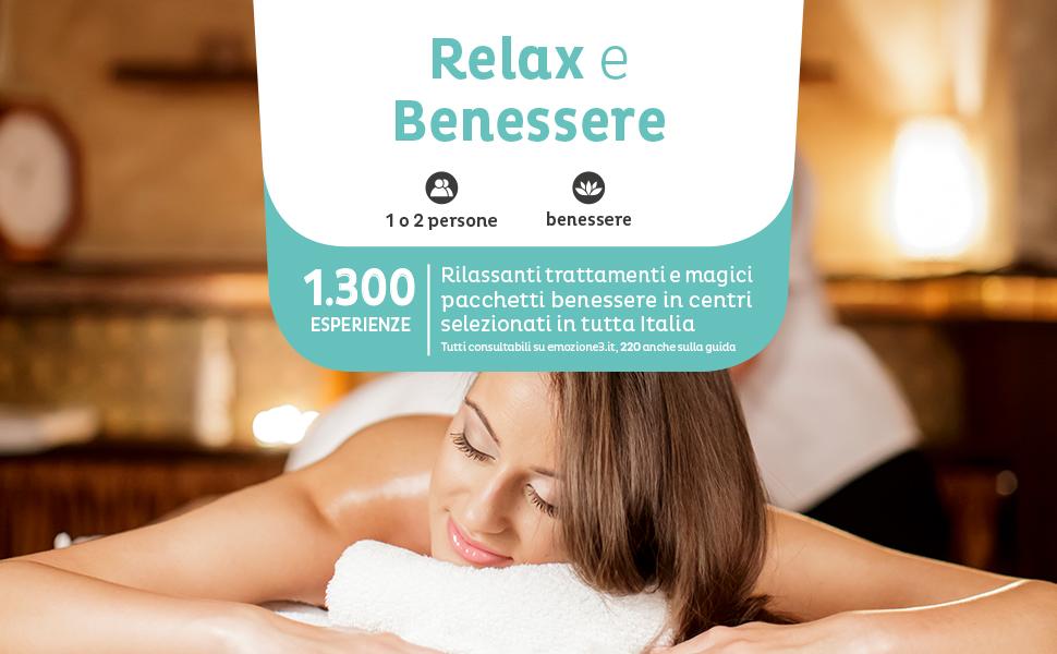 Emozione3 Relax E Benessere Cofanetto Regalo Trattamenti Benessere Per Una O Due Persone