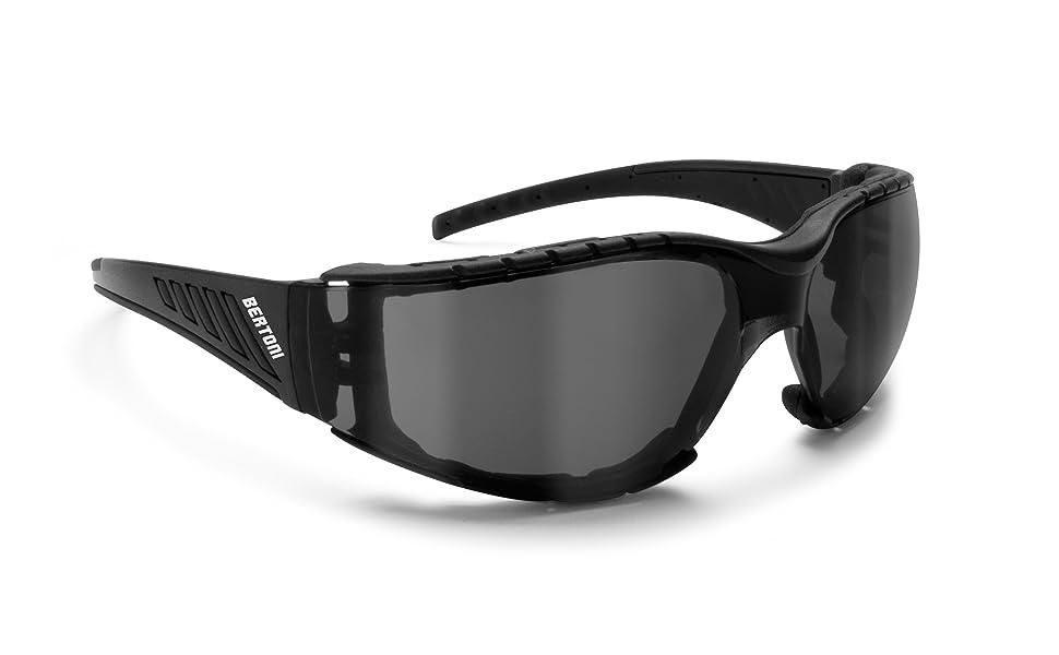 occhiali moto bertoni