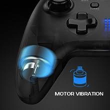 gamepad con vibrazione