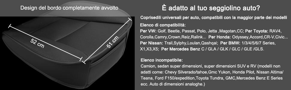 UNIVERSALE Coprisedili Auto Per Honda ACCORD ARGENTO Coprisedili rivestimenti riferimento