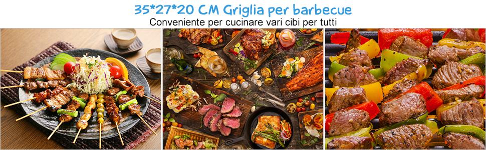 Grill Barbecue Carbone Griglia