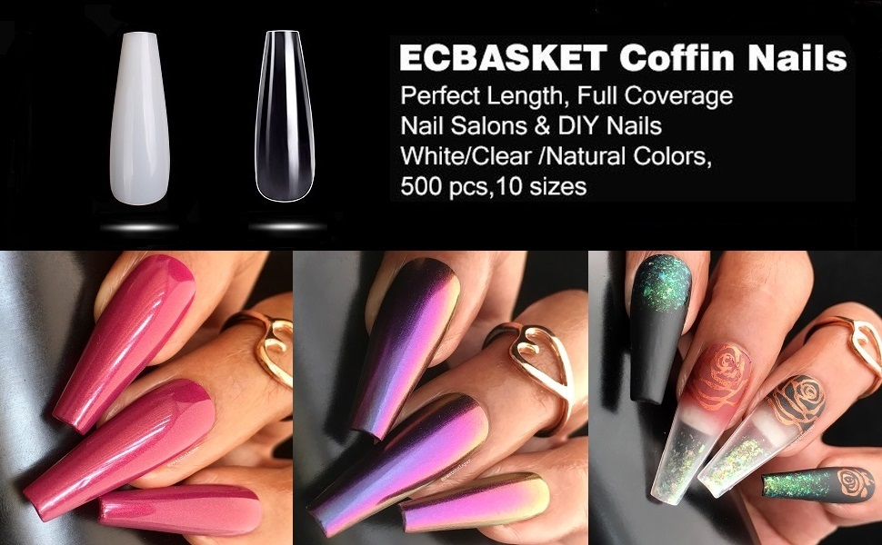 ECBASKET Coffin Nails