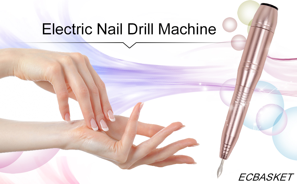 Nail Drills for Acrylic Nails Ejiubas Electric Nail File Portable ...