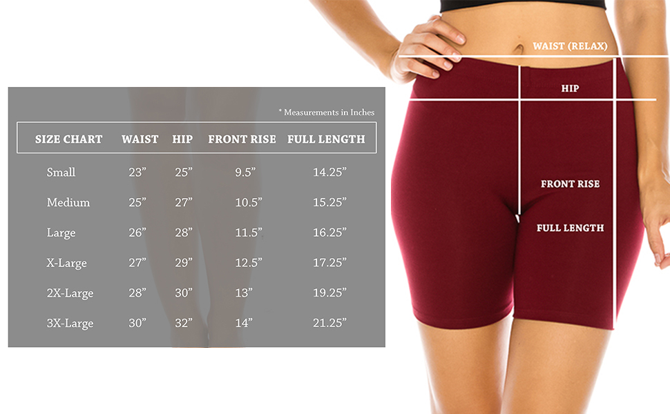 The Classic Womens Stretch Cotton Jersey Bike Yoga Workout Shorts S to 3XL Plus