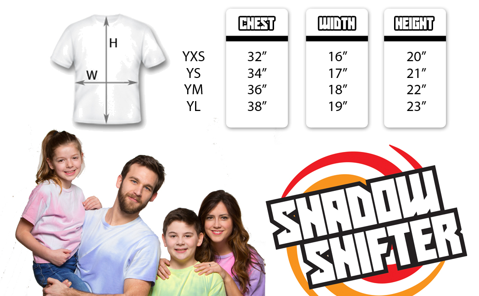 50e27d4a Amazon.com: Shadow Shifter Kids Heat Reactive Color Changing T-Shirt ...