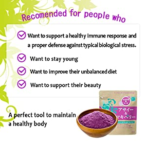Amazon.com: FINE Japan FINE SUPERFOOD ACAI & Maqui Berry (50g ...