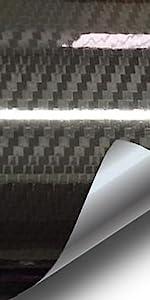 Faux carbon fiber twill weave vinyl car vehicle wrap high gloss wet VViViD texture realistic conform