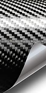 Faux carbon fiber twill weave vinyl car vehicle wrap wrapping VViViD texture automotive roll conform