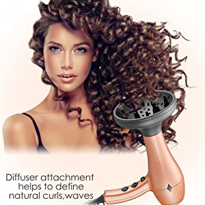 nition hair dryer with diffuser