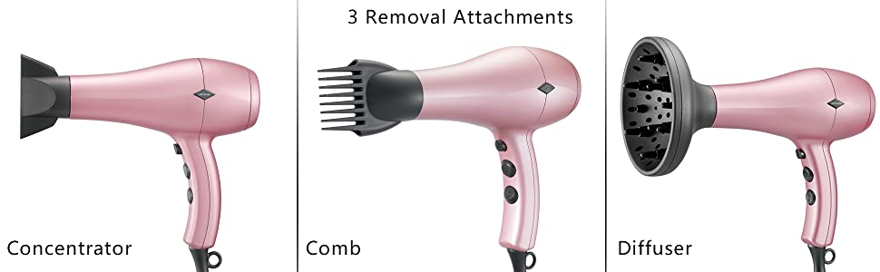 NITION HAIR DRYE WITH DIFFUSER BLOW DRYER