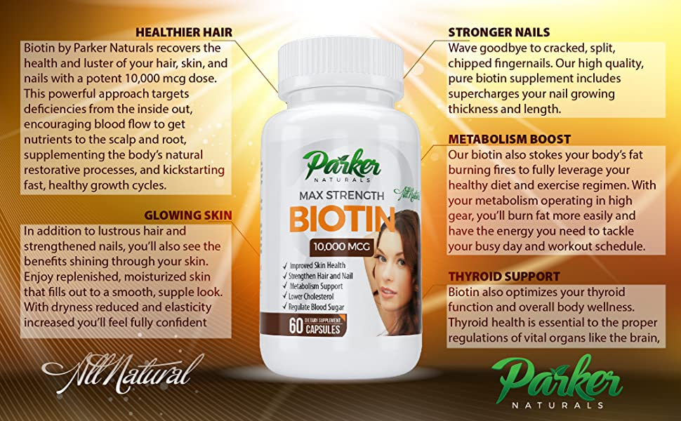 Benefits of Biotin by Parker Naturals