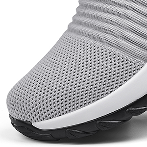 Mesh Fabric Breathable and Comfortable Shoes Walking Shoes
