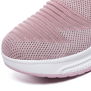 Mesh Breathable Stretchy Slip Women Shoes