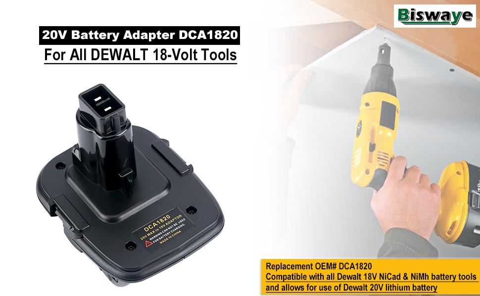 18V 2.0Ah für Dewalt DC380N DC385B DC390 DC390K DC390KB DC410 DC410KB DC411B