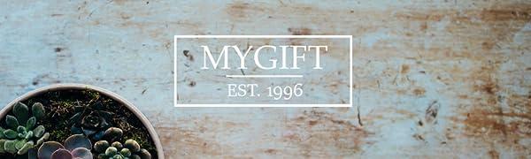 Amazon.com: Montado en la pared estante de madera & Metal ...