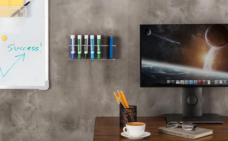 Amazon.com : Clear Acrylic Wall Mountable 10 Slot Dry