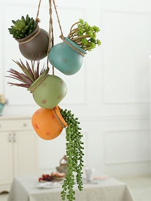 hanging planter pots