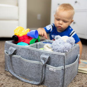 Putska diaper caddy fits for your baby toys