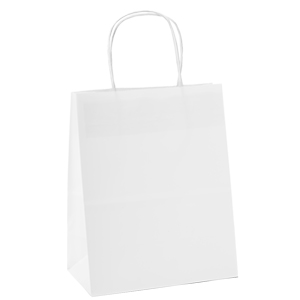 Amazon.com: Bolsas Halulu de papel Kraft blanco, 50 unidades ...