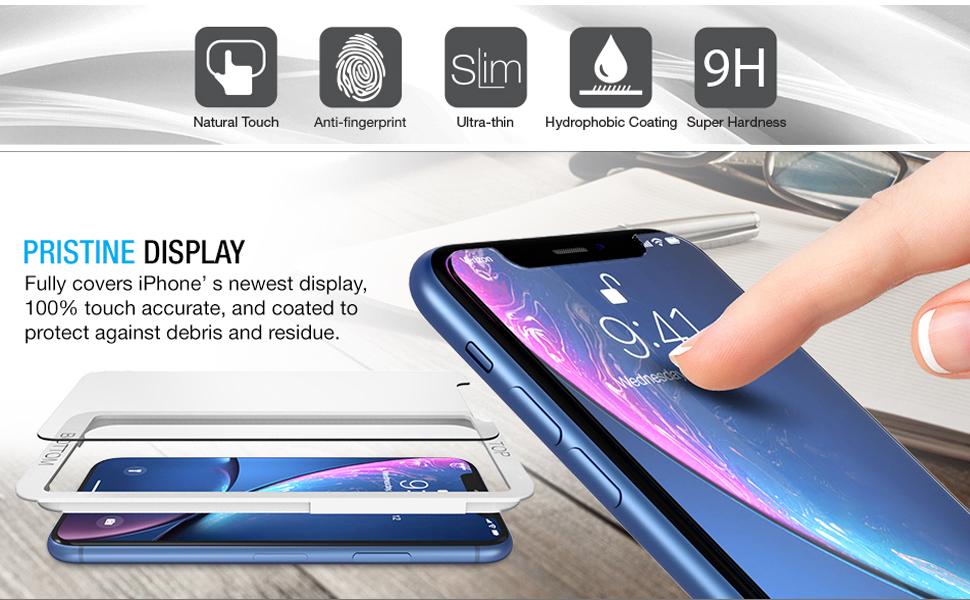 Maxboost iPhone XR Screen Protectors