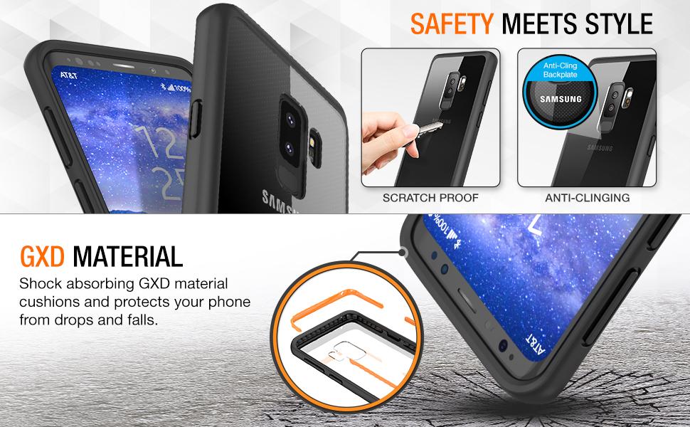 Amazon.com: Maxboost - Funda para Galaxy S9 Plus serie ...